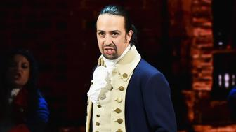 NEW YORK, NY - JUNE 12:  Lin-Manuel Miranda of 'Hamilton' performs onstage during the 70th Annual Tony Awards at The Beacon Theatre on June 12, 2016 in New York City.  (Photo by Theo Wargo/Getty Images for Tony Awards Productions)