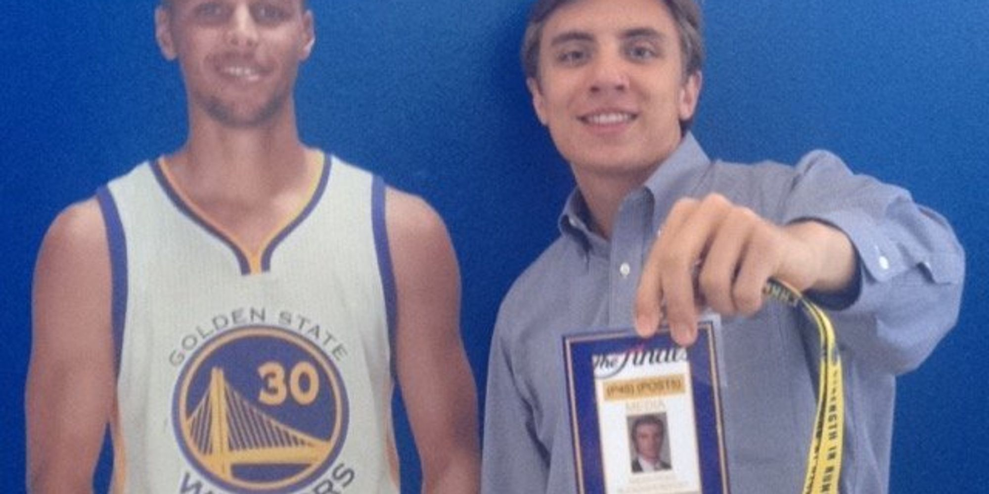 This Kid Snuck Into Game 7 Of The NBA Finals With A Fake Press Pass | The Huffington Post