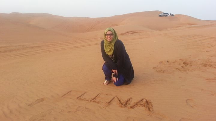 Dubai desert safari, was totally fun!