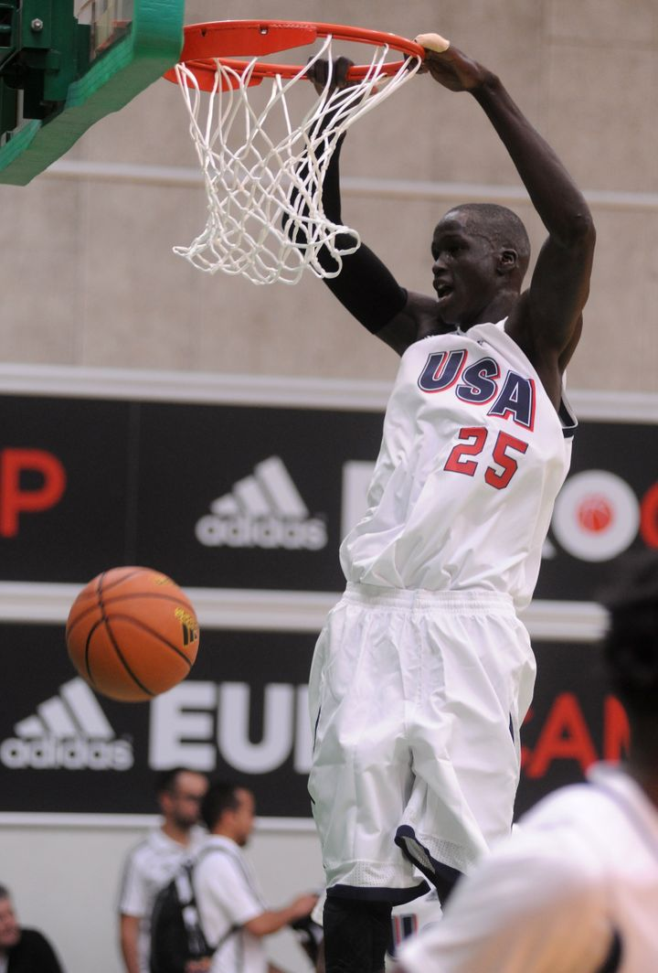 The 7-foot Thon Maker -- born in the Sudan -- is a project, but he boasts tremendous potential alongside the Greek Freak in M