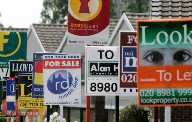 House sales could fall by as much as 20%, analysts said, as people 'wait and see' if the economy will