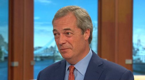Farage said 'Vote Leave' should not have claimed £350m in EU contributions could be spent on the...