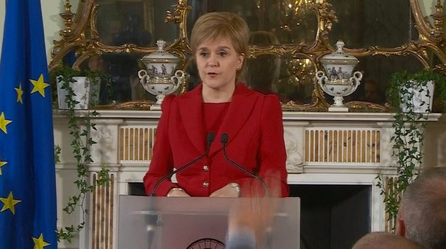 Scottish Independence Referendum: Nicola Sturgeon Says 'Brexit' Means Fresh Vote Is 'Highly