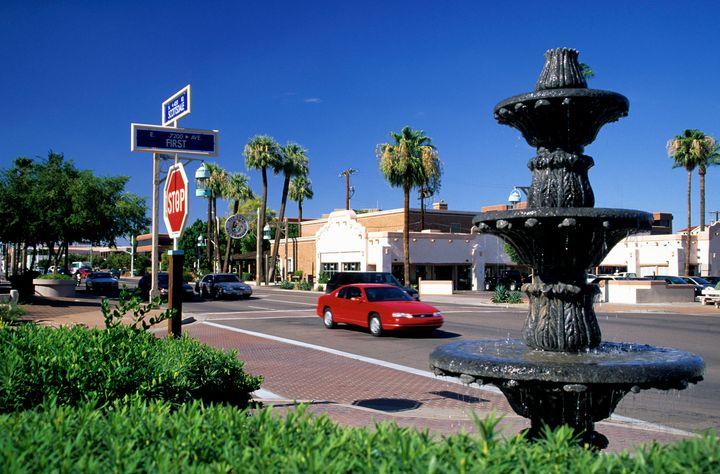 Old Town, Scottsdale, Arizona.