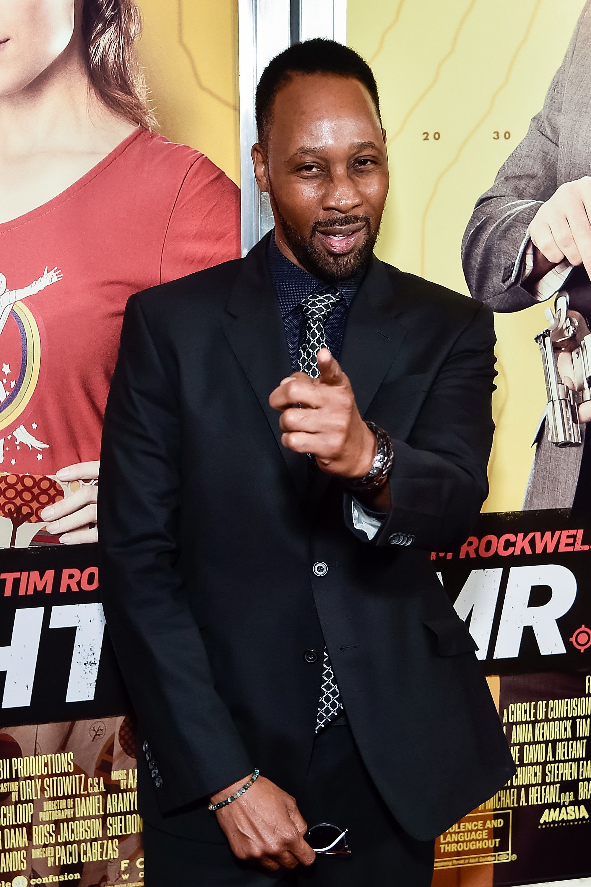 NEW YORK, NEW YORK - APRIL 06:  Actor RZA attends the 'Mr. Right' New York premiere at AMC Lincoln Square Theater on April 6, 2016 in New York City.  (Photo by Michael Stewart/FilmMagic)