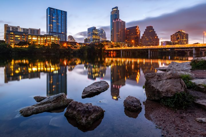 Round Rock is just outside Austin, the capital of Texas.