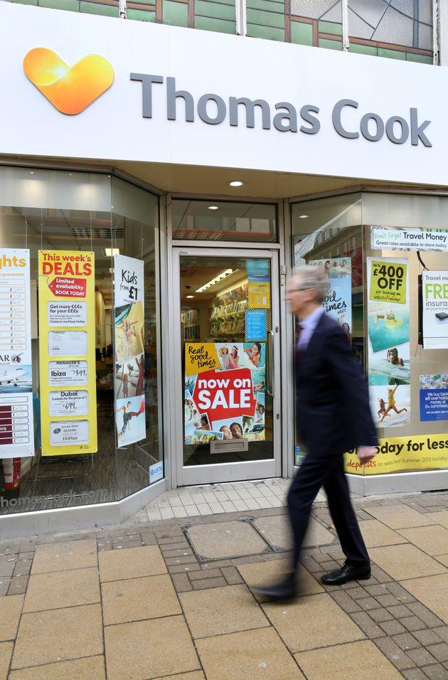 Thomas Cook has hadto suspend online
