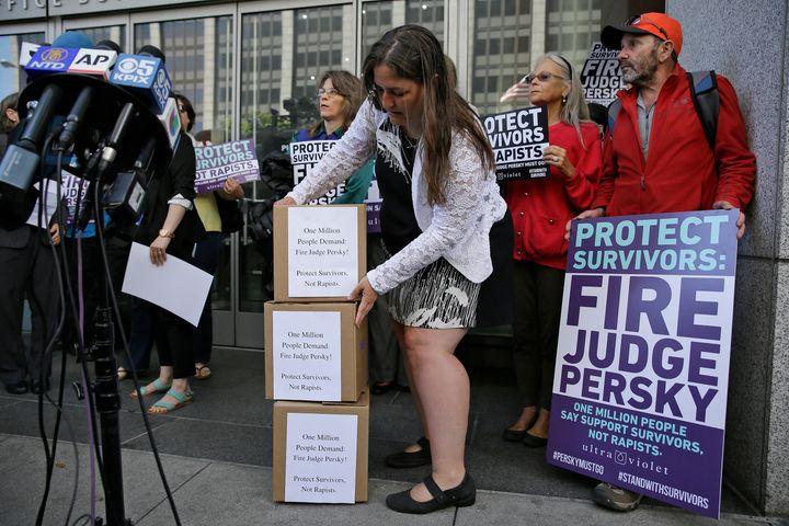 Judge Aaron Persky's sentence for convicted sex offender Brock Turner sparked a huge backlash.