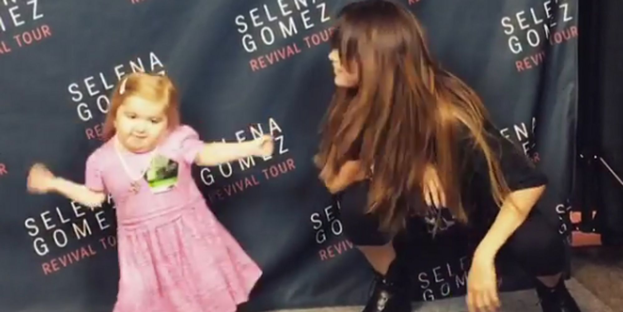 Selena Gomez Has Adorable Dance-Off With 7-Year-Old Who Has Rare Illness