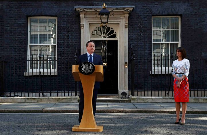 British Prime Minister David Cameron announces he will be stepping down after the U.K. voted to leave the European Union, as
