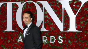 NEW YORK, NY - JUNE 12:  Actor Lin-Manuel Miranda attends the 70th Annual Tony Awards at Beacon Theatre on June 12, 2016 in New York City.  (Photo by Jim Spellman/WireImage)