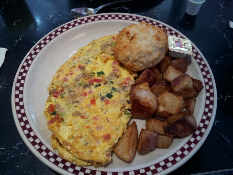 The New York City diner omelette is traditionally the most disappointing omelette on earth, and we've vowed to stop ordering