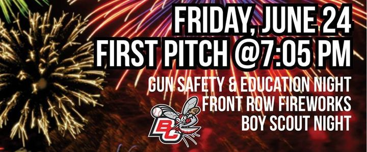 The Battle Creek Bombers are inviting fans to bring their guns to the game.