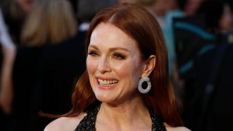 Presenter Julianne Moore arrives at the 88th Academy Awards in Hollywood, California February 28, 2016.   REUTERS/Lucas Jackson