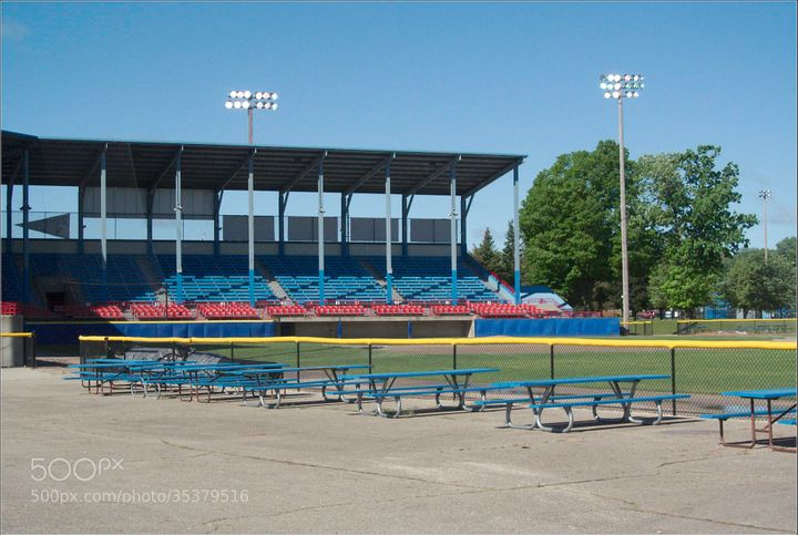 C.O. Brown Stadium, where many gun owners will be openly carrying tonight.