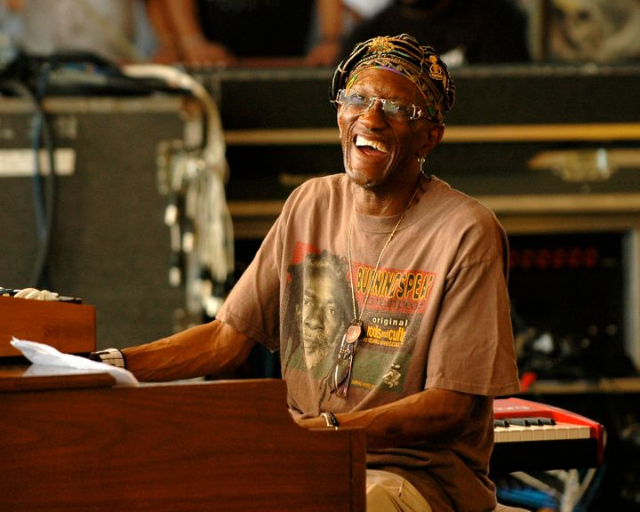 Bernie Worrell (P-Funk, Talking Heads) performing with Leo Nocentelli's Rare Funk Gathering at the New Orleans Jazz & Her
