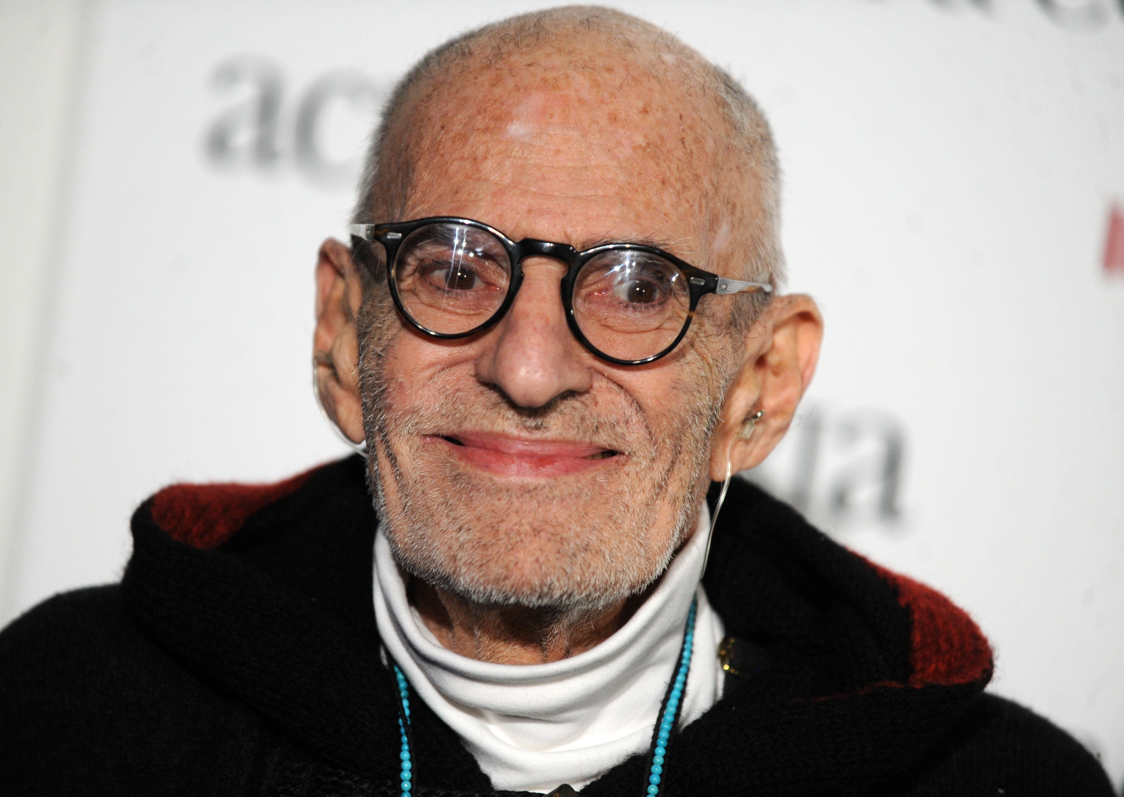 Larry Kramer attends ACRIA's 19th Annual 'Holiday Dinner' Benefit at Skylight Modern in New York on December 10, 2014.