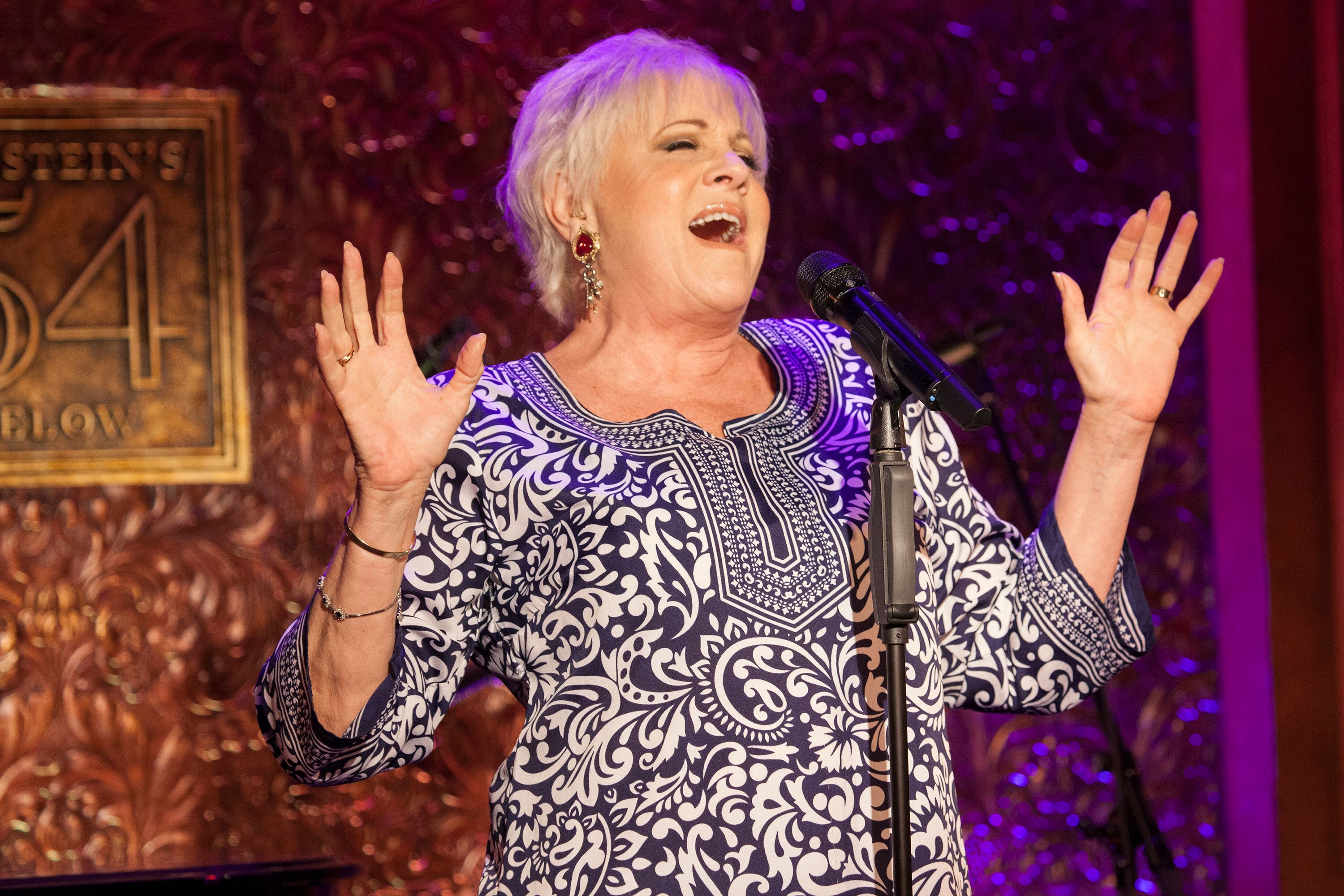 NEW YORK, NY - JUNE 21:  Lorna Luft performs onstage during Feinstein's/54 Below Press Preview at 54 Below on June 21, 2016 in New York City.  (Photo by Santiago Felipe/Getty Images)