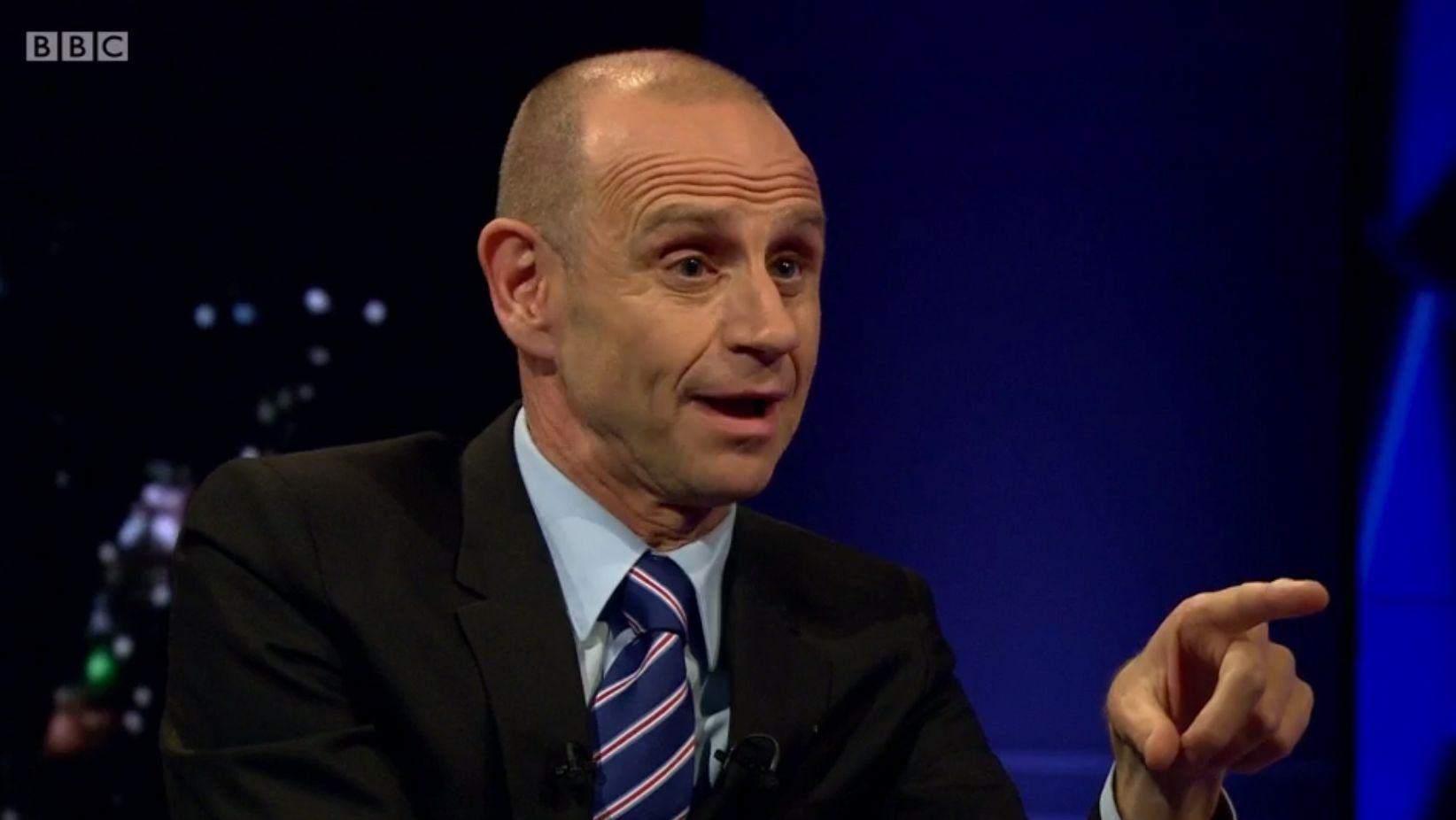 Evan Davis Seriously Struggles To Hide Frustration With Brexit