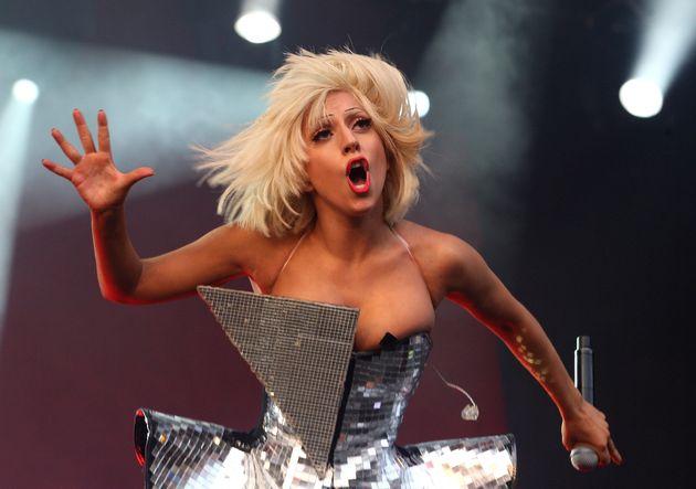Lady Gaga played Glastonbury in