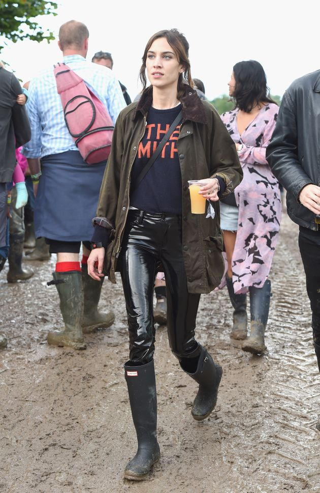 Glastonbury 2016 Alexa Chung Channels Kate Moss From 2007