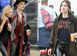 Alexa Chung Channels Kate Moss At Glastonbury