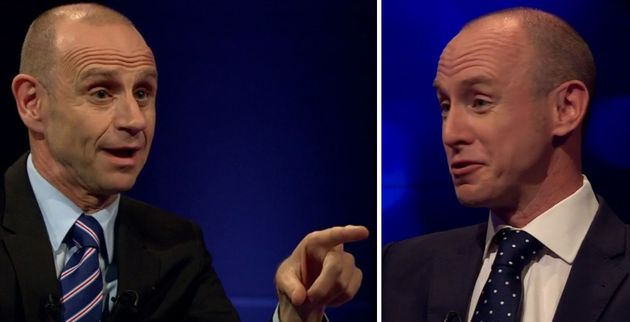 Daniel Hannan was confronted on Newsnight by Evan
