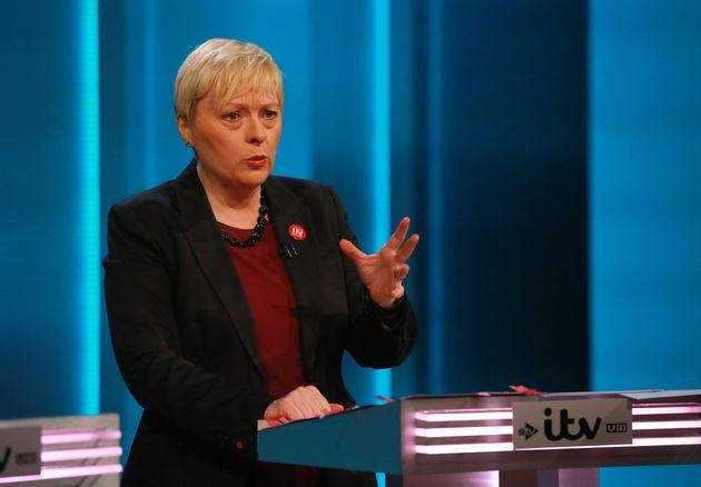 Angela Eagle in ITV's EU