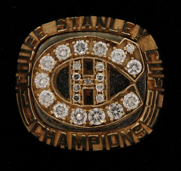 A Stanley Cup Championship ring once belonging to James 'Whitey' Bulger.