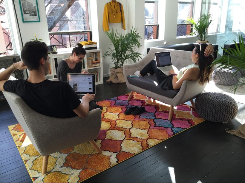 Not quite a meeting, at Knotel NoHo. www.knotel.com