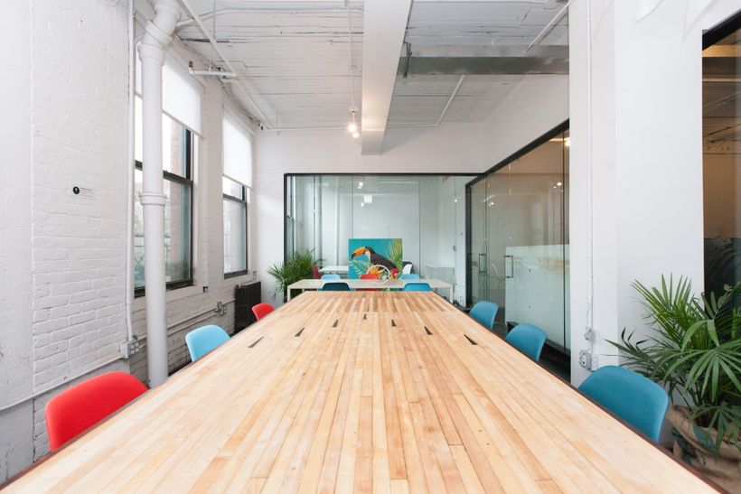 Knotel NoHo's quirky, colorful, fun andopen spaces let companies romp.