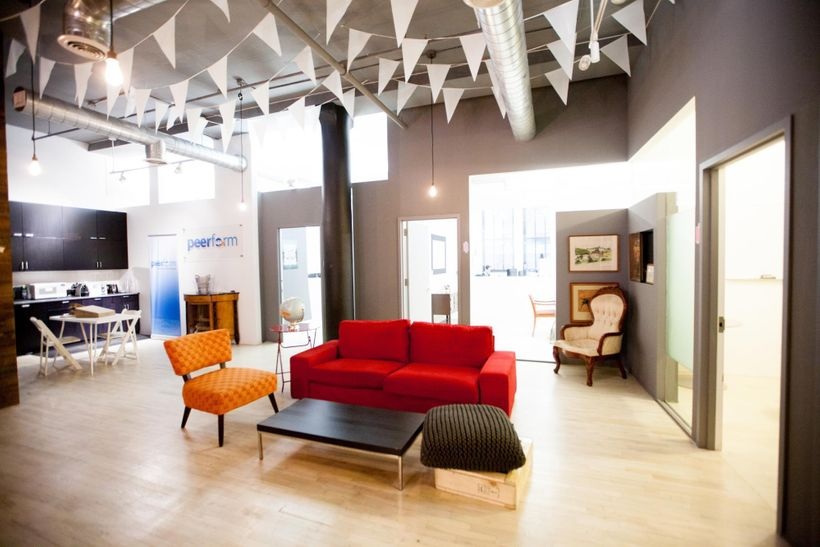 A few choice pieces, light, well-considered social environments + taste = winning workspaces.