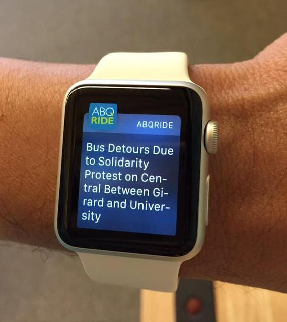 Native Mobile apps can integrate with wearables to receive urgent notices on the go.