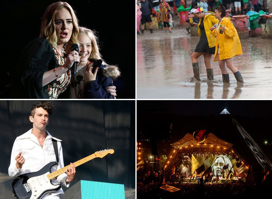 Glastonbury 2016: All The Pictures You Need To See From Day Two Of The