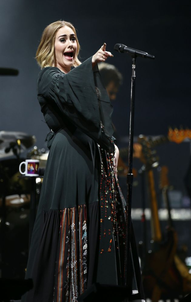 Adele also brought her unique stage banter to