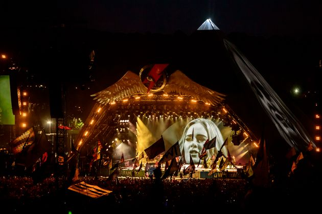 Adele previously played a small tent at the festival in 2007. Now look at