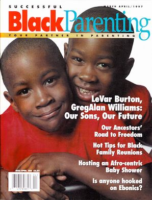 "<i>Vintage cover of Successful Black Parenting magazine. The founders are <a href=""https://www.indiegogo.com/projects/success"