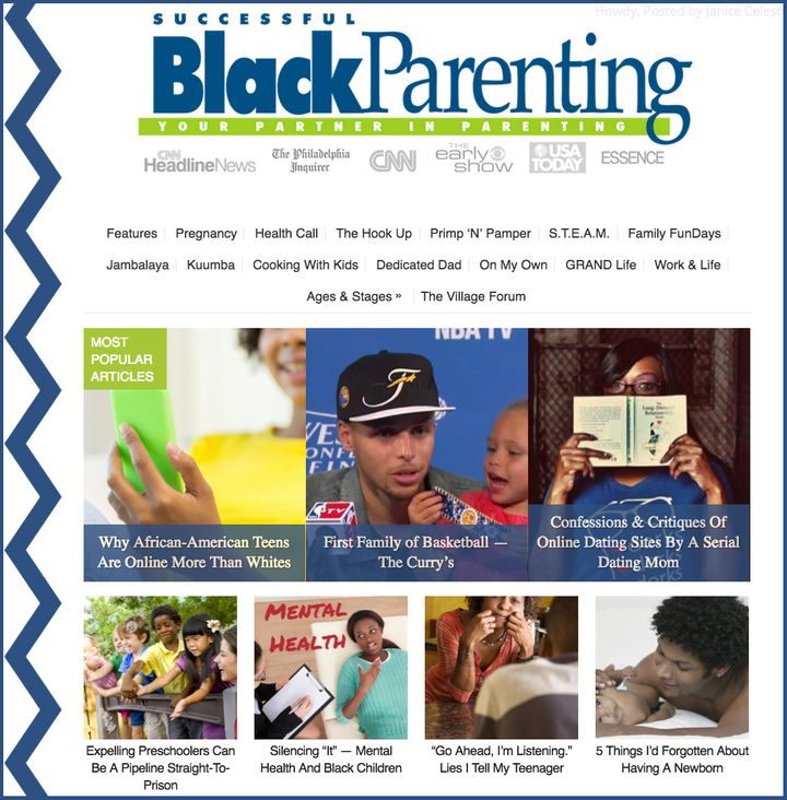 "<i>As part of the relaunch, Successful Black Parenting has a <a href=""https://www.SuccessfulBlackParenting.com"" target=""_blan"