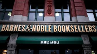 The exterior of a Barnes & Noble Booksellers store is seen in Manhattan, New York City, New York, U.S., June 17, 2016. REUTERS/Mike Segar/File Photo               GLOBAL BUSINESS WEEK AHEAD PACKAGE       SEARCH BUSINESS WEEK AHEAD JUNE 20 FOR ALL IMAGES