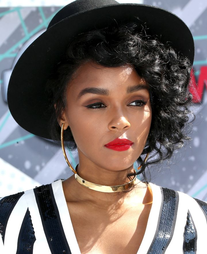 Janelle Monae, channelling her inner Prince.