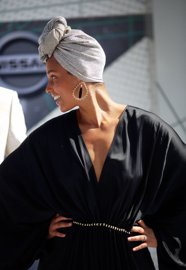 Singer Alicia Keys arrives at the 2016 BET Awards in Los Angeles, California U.S. June 26, 2016.  REUTERS/David McNew