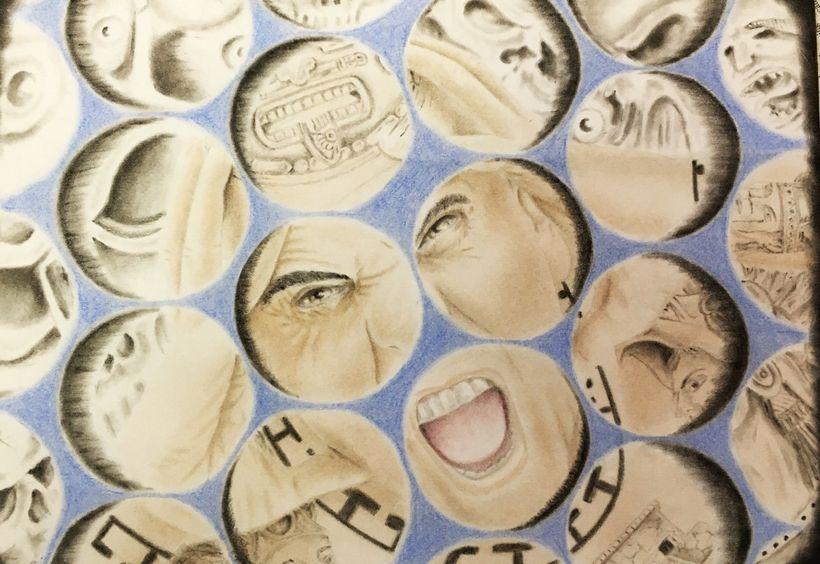 Inmate artwork from Pelican Bay SHU