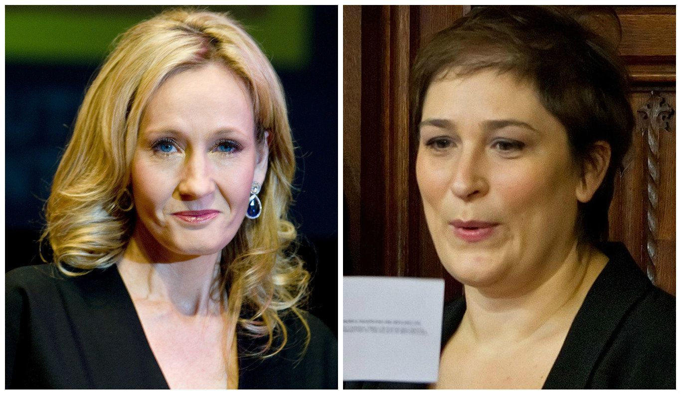 JK Rowling took aim at Sarah Vine for her comment on 'experts' in light of her husband's repeated...