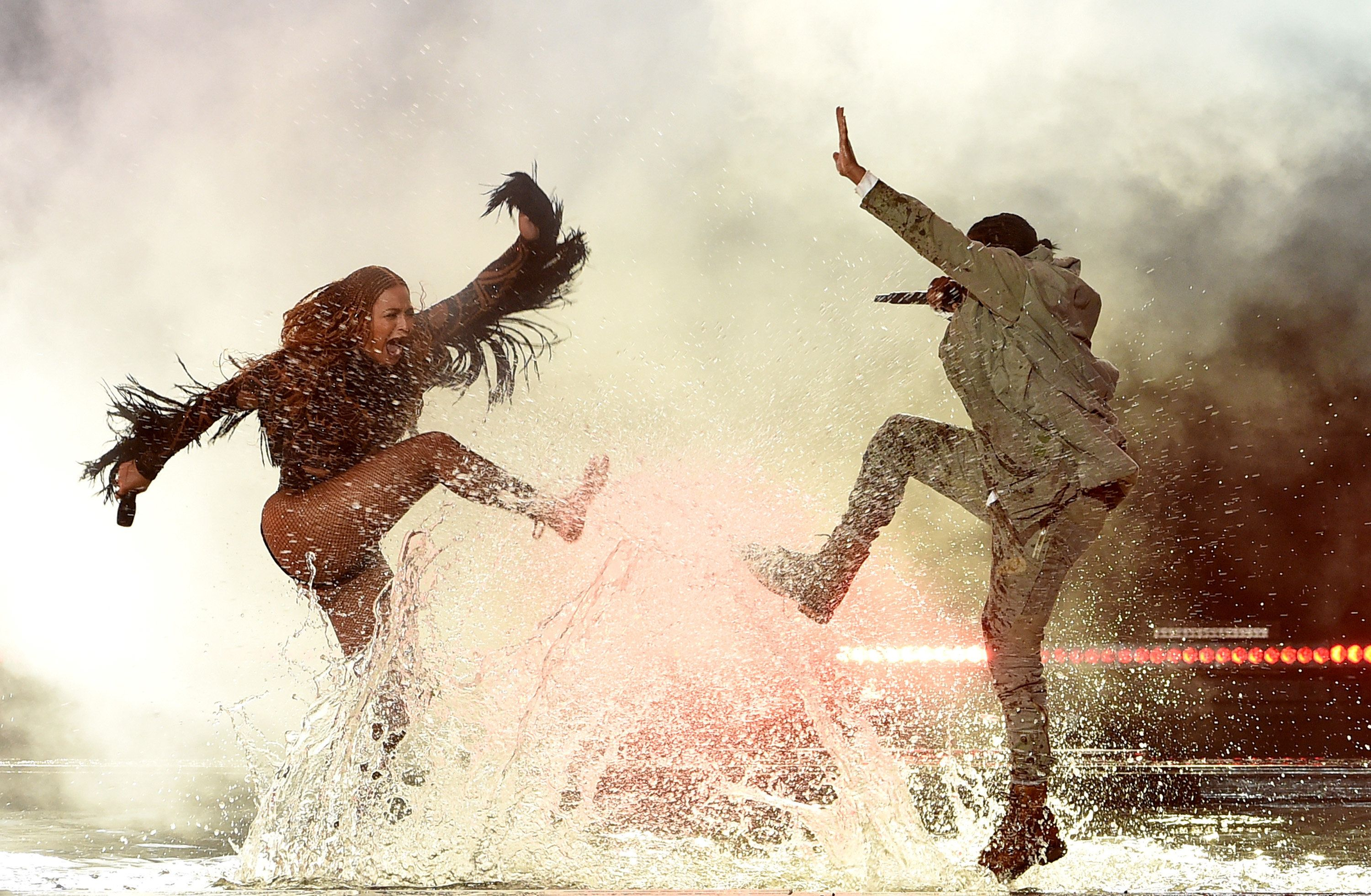Beyoncé And Kendrick Lamar Give It Their All At BET