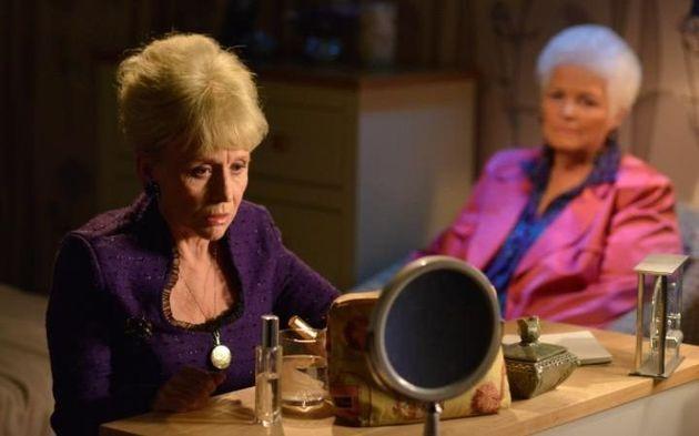 Barbara Windsor in her final scenes as