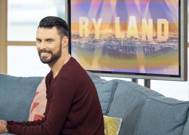 Rylan has his own regular slot on 'This Morning', covering showbiz