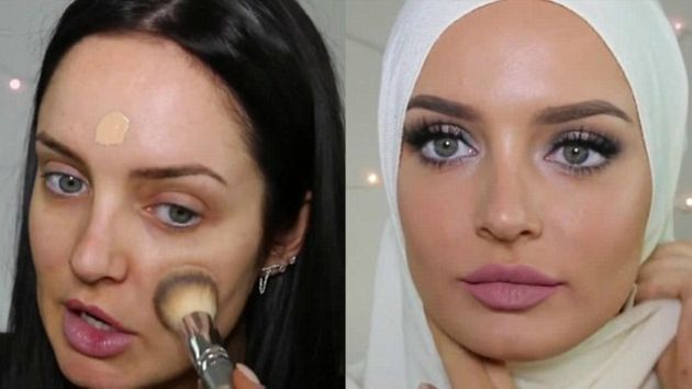 Chloe Morello Divides Opinion With Hijab In Eid Makeup