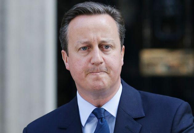 David Cameron, pictured outside Downing Street announcing his resignation, has faced one of his toughest...