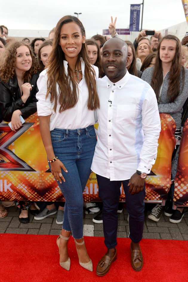 Rochelle Humes and Melvin Odoom will not be