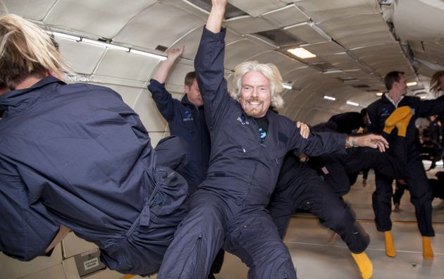 Sir Richard's latest mission is to take people into